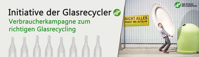 Initiative der Glasrecycler